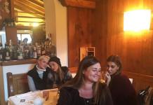 Belen non è a Cortina con Marco Borriello