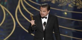 Leonardo Di Caprio finalmente vince l'Oscar