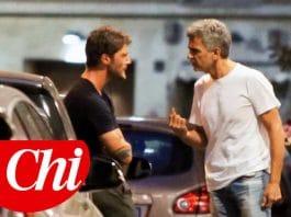 Stefano De Martino, lite in strada con il papà di Belen