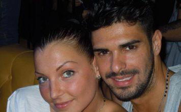 Cristian Gallella e Tara in viaggio di nozze
