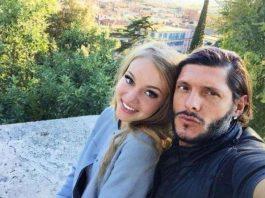 Aldo Montano e Olga: prima uscita pubblica da marito e moglie