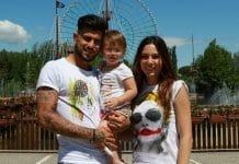 Micol Olivieri scrive messaggio d'amore alla figlia Arya