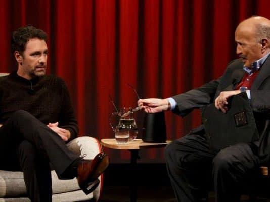 Raoul Bova in lacrime a L'Intervista di Maurizio Costanzo