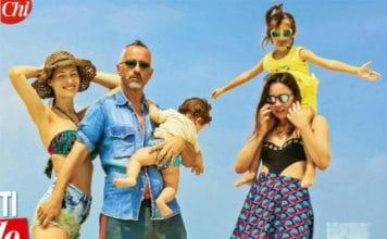 Eros Ramazzotti, vacanze alle Maldive con tutta la famiglia